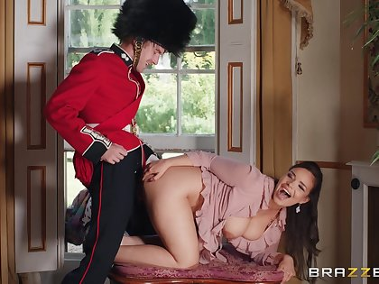 Doggy style and cowgirl riding with curvy pornstar Sofia Lee