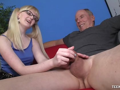Slutty young whore wants this superannuated male's huge dick round her ass
