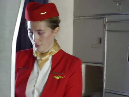 Passenger fuck be imparted to murder stewardess