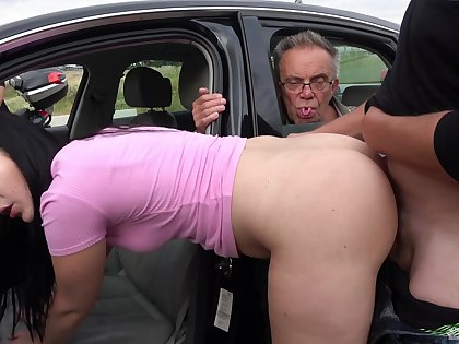 Naked doll hard fucked by the side be beneficial to the road