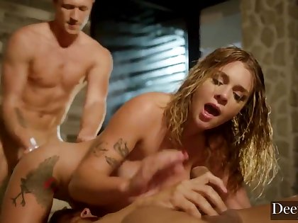 Gabbie Carter trio Some Super-Hot Fuck-Fest