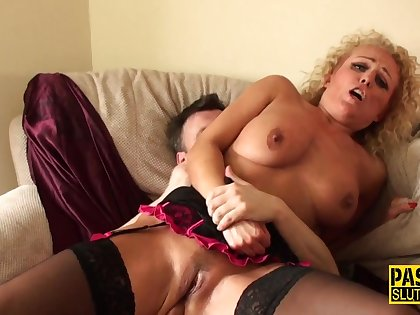 Throated Large-Breasted Bide one's time Mom Gets Anally Shagged