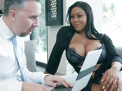 Intermediary nails huge-chested founder for ages c in depth hubby away